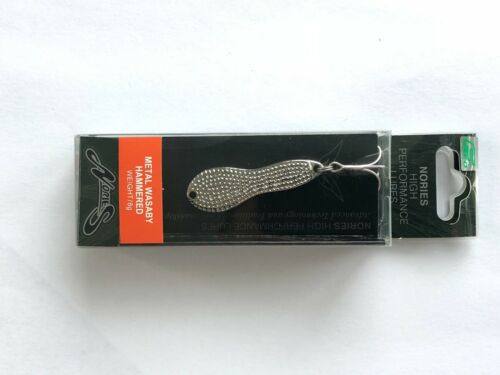NORIES WASABY JIGGING SPOONS 4gram Shiny Finish and 8gram Hammered Finish
