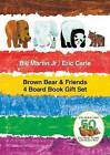 Brown Bear & Friends 4 Board Book Gift Set by Bill Martin (Multiple copy pack, 2016)