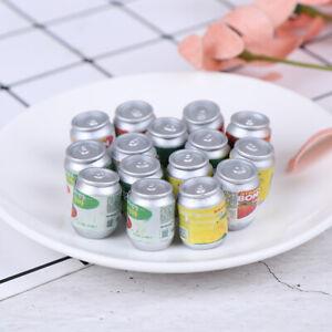 Dollhouse-miniatura-latas-de-bebida-DIY-casa-de-munecas-accesorios-de-cocina