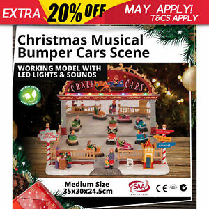 Christmas-Gift-Musical-Bumper-Cars-Multi-Colour-LEDs-Home-Play-Toys-Decoration