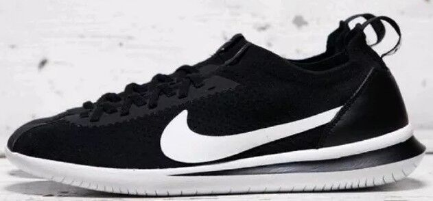 Nike Cortez Flyknit Black And White Men's Trainers Size 8 Bnib AA2029 001