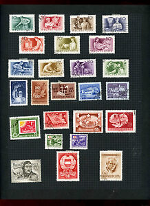 Stamps Gentle Hungary Album Page Of Stamps #v5540 Good For Energy And The Spleen Europe