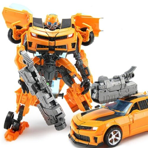 Optimus Prime Bumblebee Transformers Car Robot Toys Action Figure Gift For Kids