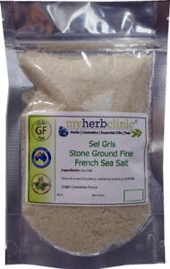 Details about SEL GRIS (FINE) FRENCH SEA SALT (Celtic Salt)BRINGS MINERAL  DEPTH TO EVERY MEAL