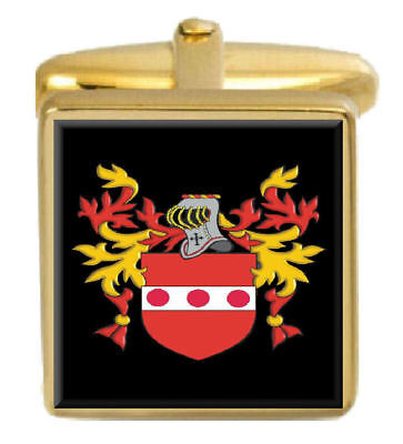 Select Gifts Gledhill England Heraldry Crest Sterling Silver Cufflinks Engraved Box