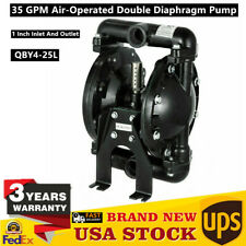 Air Operated Diaphragm Pump Double 1 Inch Inlet Amp Outlet Petroleum Fluids 35gpm