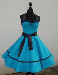 Rockabilly,Tanz,Vintage,Konfirmation,Abiball,Abend,Kleid,Dress 50er,Petticoat