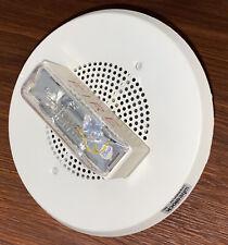 Cooper Wheelock E90 2475c Fire Alarm Speaker Strobe