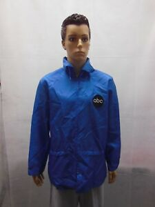 1970s-ABC-Blue-Windbreaker-with-Talon-Zippers-made-in-USA-Tomahawk-Mens-L