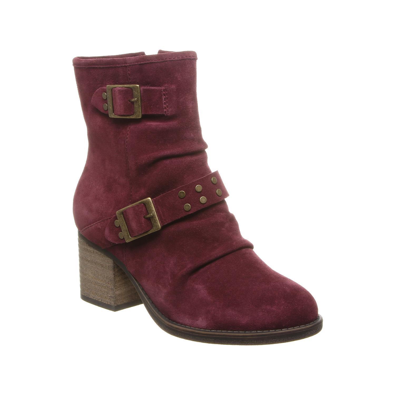 Bearpaw Amethyst - Women's Heeled Boot - 2157w Wine - 9