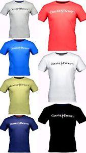 Maglia-T-shirt-Maniche-Corte-Uomo-Cesare-Paciotti-Men-Short-Sleeves-Crew-Neck-CP