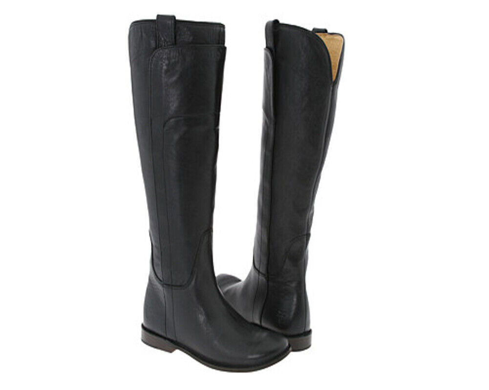 New FRYE Women's Paige Tall Riding Boot Boot Boot Black 7.5 463d9b