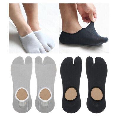 3 Paare Male Split 2 Toe Flip Flop Socken Tabi Socken Sport Fußkettchen