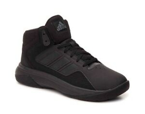 Pennino nuove adidas cloudfoam ilation metà k aw4793 nero il basket giovanile