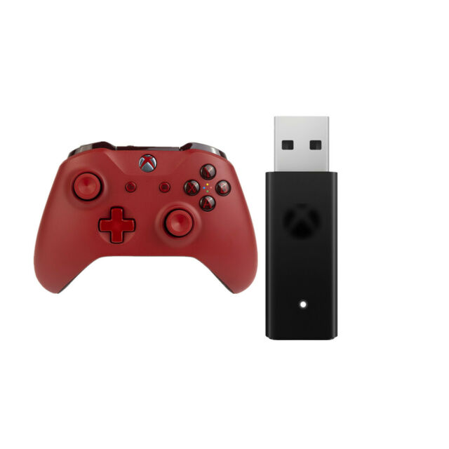 Special Edition Sport Red Wireless Bluetooth Controller Xbox Adapter