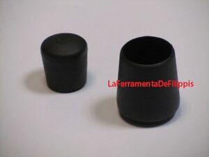 4pz tappo rotondo per sedie plastica puntali gommino for Feltrini per sedie