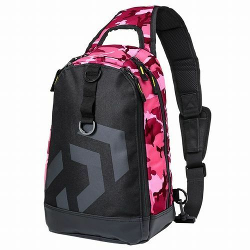 Daiwa ONE SHOULDER  BAG C Pink Camouflage  New   save up to 80%