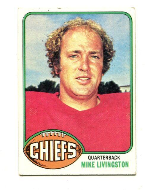 1976 Topps #436 Mike Livingston Kansas City Chiefs