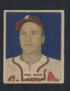 1949-Bowman-153-Phil-Masi-VGEX-RC-Rookie-Bos-Braves-104283