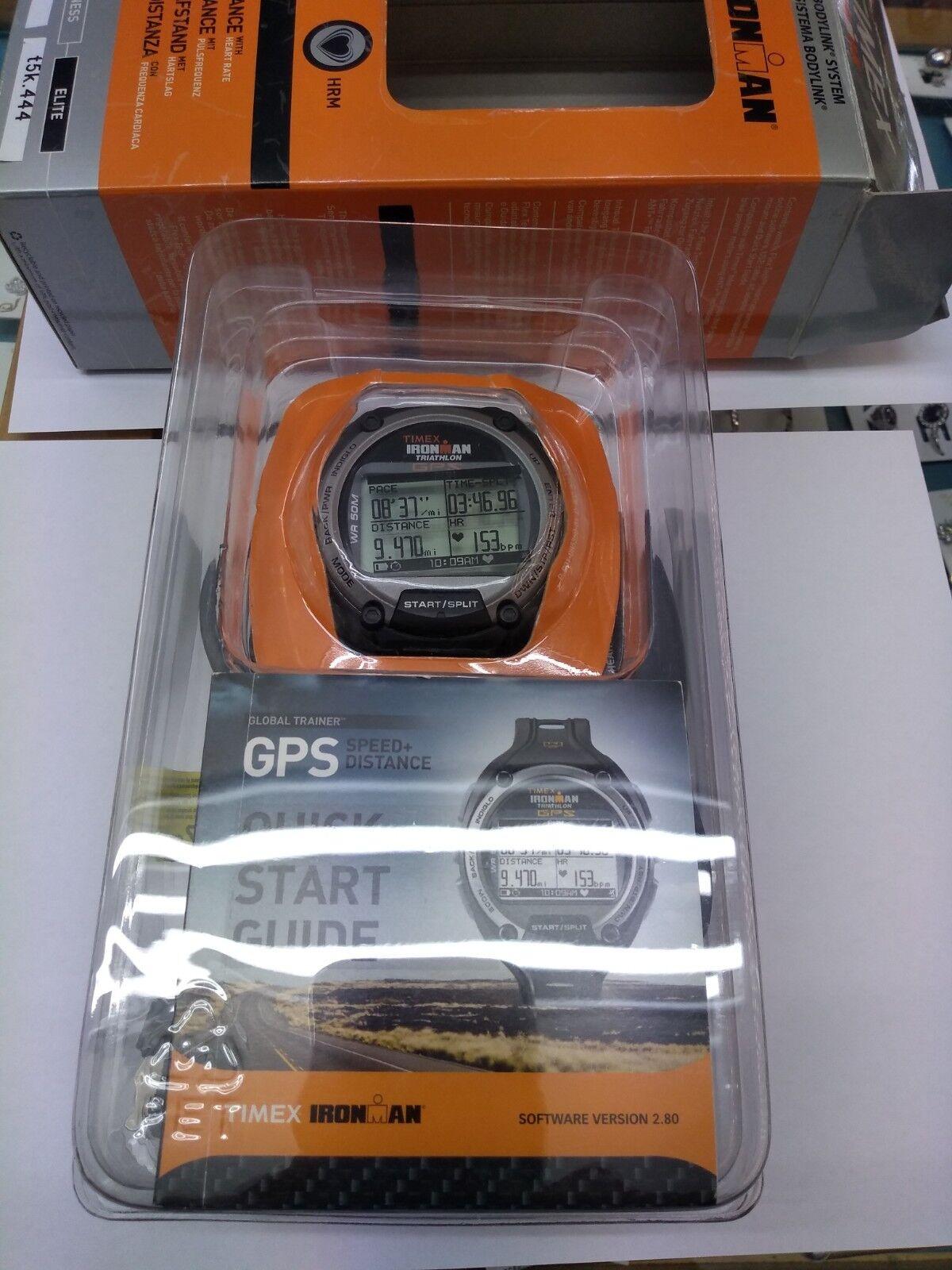 Goldlogio TIMEX IRONMAN GLOBAL TRAINER ELITE GPS GPS GPS HRM T5K444 e706a5