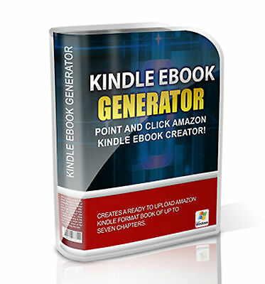 Point & Click Amazon Kindle eBook Creator - MRR