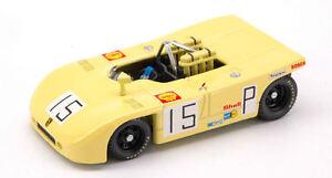 Porsche 908/3 n ° 15 2e Nurburgring 1970 H. Herrmann / R. Attwood Modèle 1:43