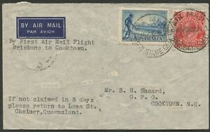 Aerophilately-27-Oct-1935-AAMC-550a-Cairns-Cooktown-intermediate-cover
