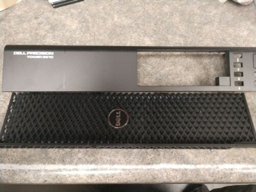 in good shape minor wear Dell Precision T5810 Front Bezel Both Pieces