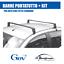 4055+6 BARRE PORTATUTTO GEV KIT per TETTO STANDARD NISSAN OPEL SEAT TOYOTA VW