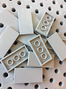 Lego Green 2x4 Flat Tiles Smooth Finishing Tile MODULAR BUILDINGS New Lot Of 12