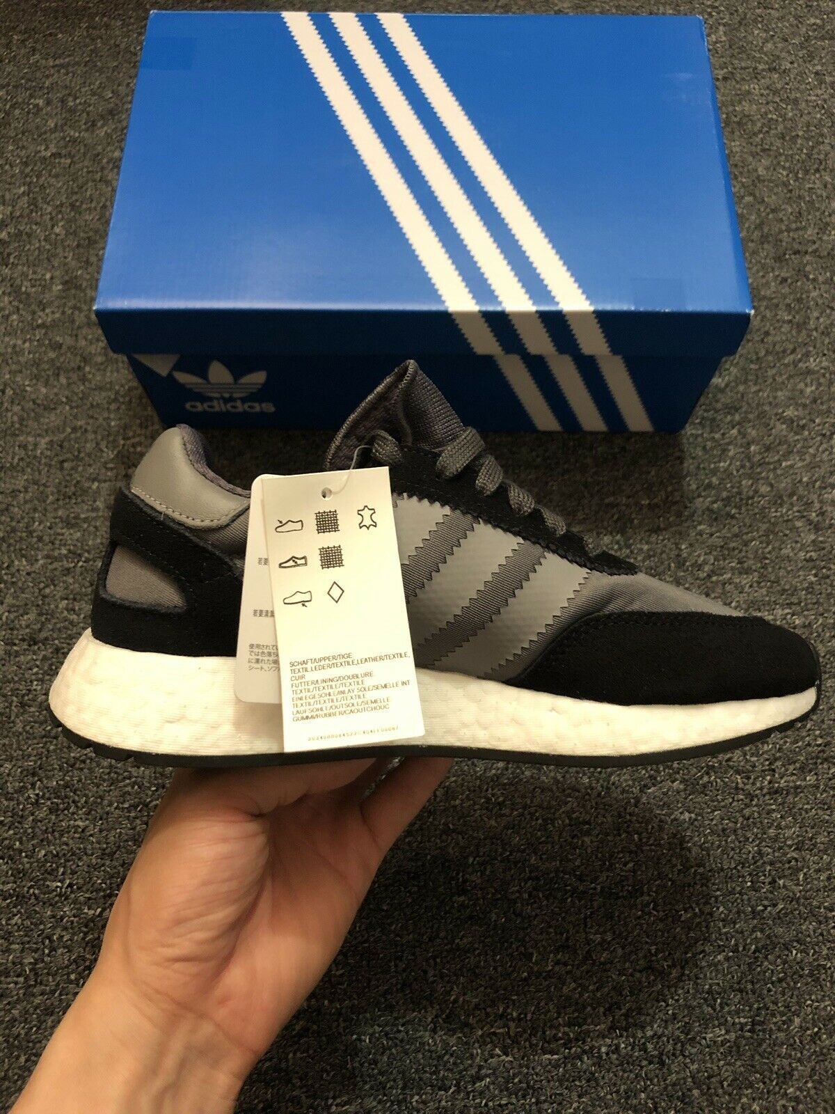NWT  Women's Size 5 (Euro 36) Adidas Originals I-5923 Boost Running shoes D97353  trendy