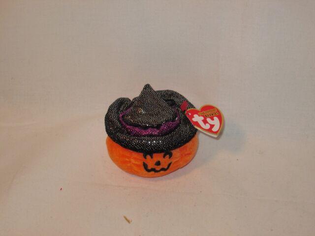 e59301ac2e7 Buy Scream 2007 Ty Halloweenie Beanie Babie 3.5in Pumpkin Witch ...
