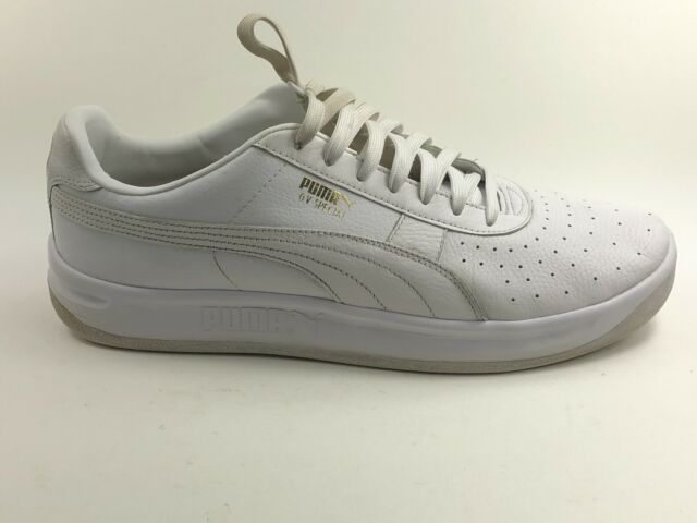Puma GV Special White Leather Sneakers Shoes MENS Sz:14