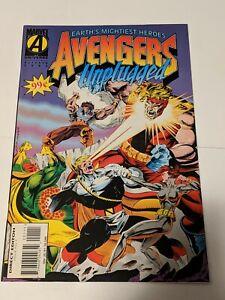 Avengers Unplugged #1 October 1995 Marvel Comics