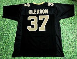 Image is loading STEVE-GLEASON-CUSTOM-NEW-ORLEANS-SAINTS-JERSEY c421714cb