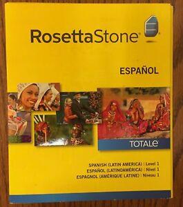 Rosetta-Stone-Level-1-LEARN-SPANISH-LATIN-AMERICA-SOFTWARE-NEW-MSRP-249-00