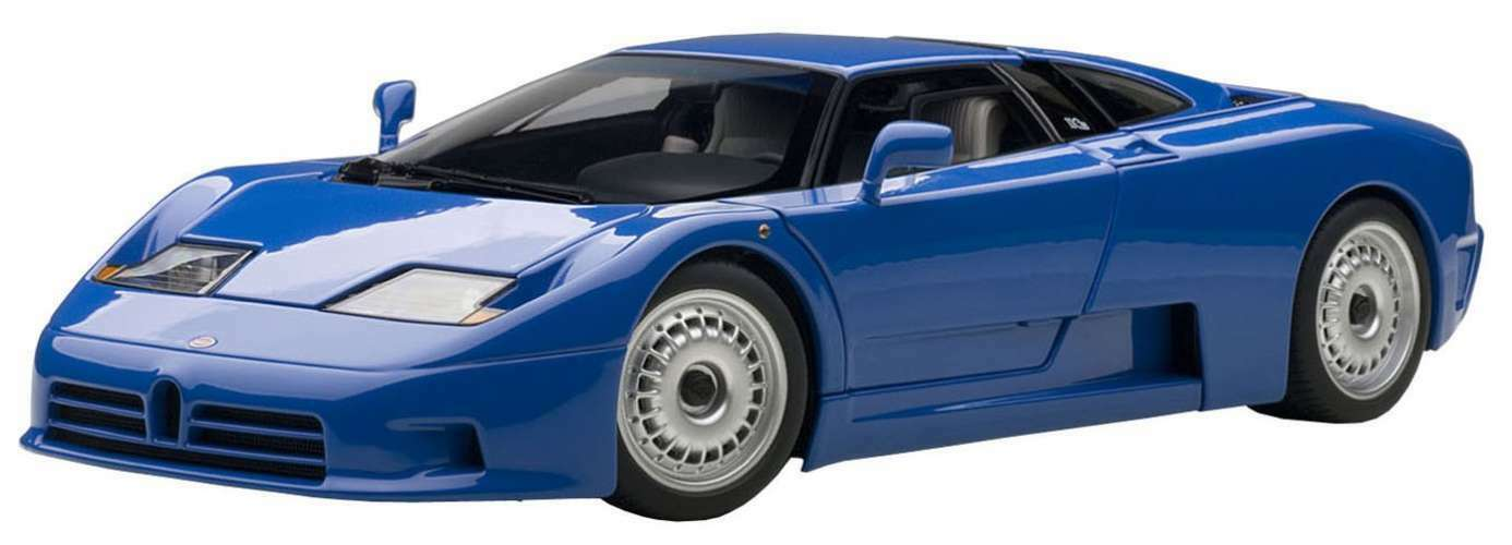 AUTOart 1 18 Bugatti EB110 GT bluee New Item Finished Goods F S from Japan