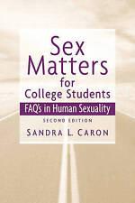 Questioni di sesso per gli studenti di college: SESSO Domande frequenti'S in la sessualità umana DA