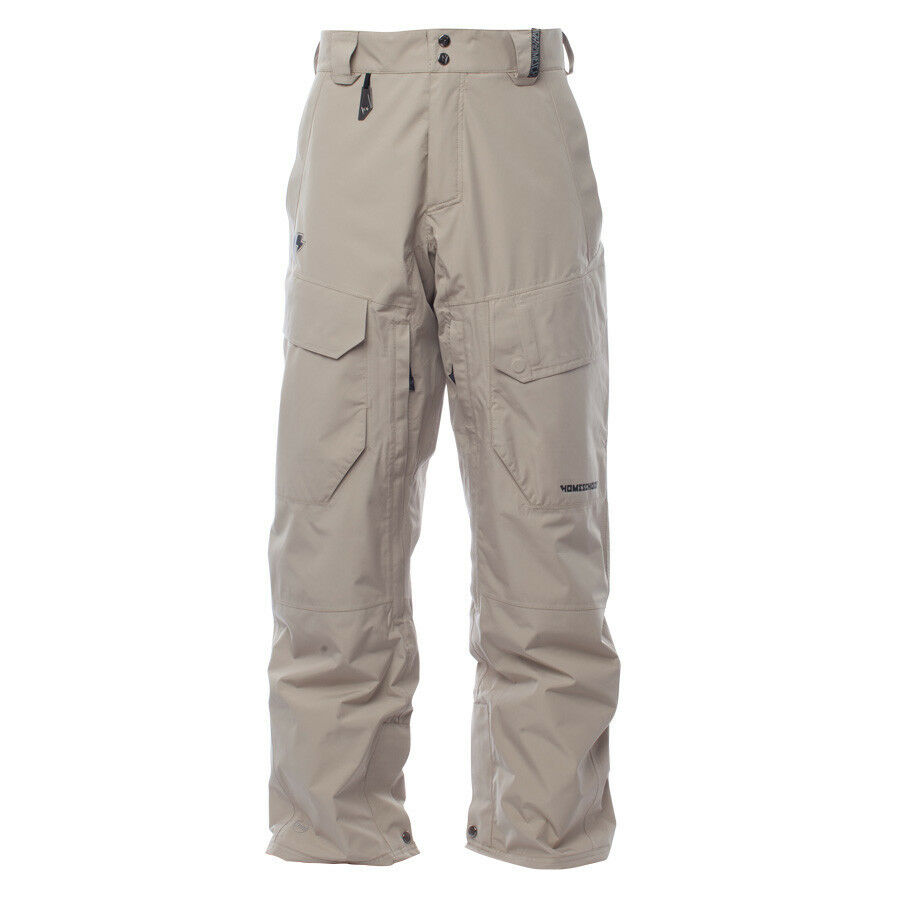 2016 NWT MENS HOMESCHOOL PULSE CARGO II SNOWBOARD PANT  260 pitch tan snow