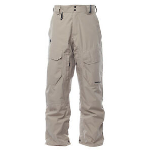 2016-NWT-MENS-HOMESCHOOL-PULSE-CARGO-II-SNOWBOARD-PANT-pitch-tan-snow