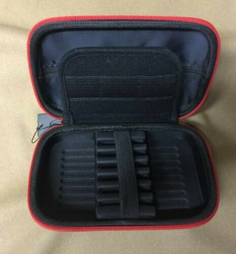 Casemaster Sentinel Dart Case Red Zipper w// FREE Shipping