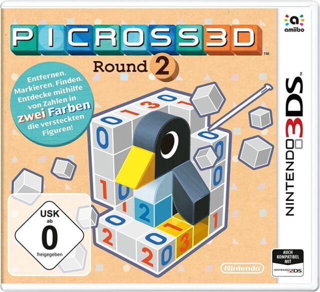 Nintendo 3DS Jeu Picross 3D: Round 2 - 2DS nouvelle partie compatibles