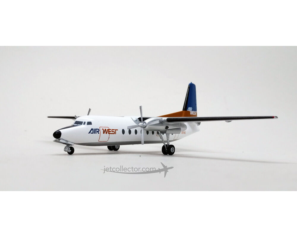 Western Models aire West Fokker F-27 N746L N746L N746L WE-19019 escala 1 200 d099f3