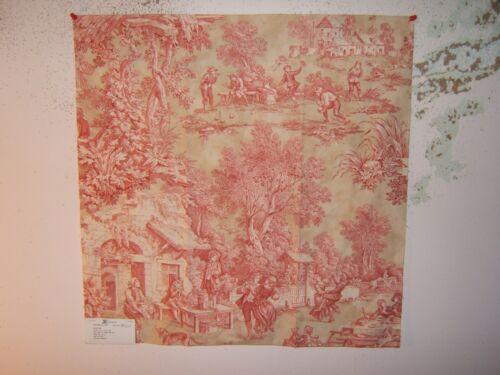 """restos Varios Colores Kravet toile escénica de/"""" /""""Romántico Country Life Toile"""