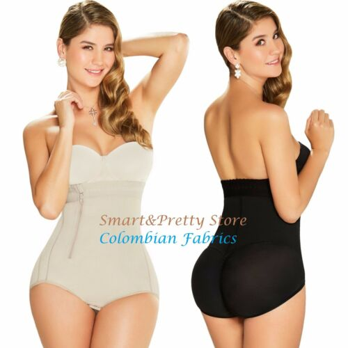 Fajas Diane /& Geordi 2405 Backless Body Shaper Strapless Panty Post Surgical