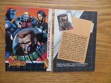 1993 IMAGE COMICS STORMWATCH PROMO CARD SIGNED CREATOR JIM LEE, WITH POA