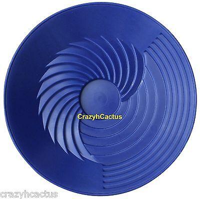 """Weitere Ballsportarten Turbopan Gold Pfanne Blau 10 """" Vortex Aktion Bekleidung Schwenken Prospektion Sluice Turbo"""