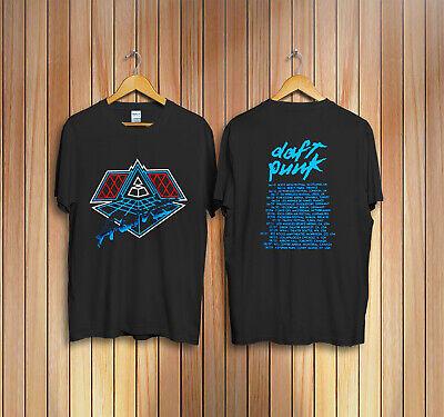 Vintage Daft Punk Alive 1997 Tour T-Shirt reprint Size S to 2XL