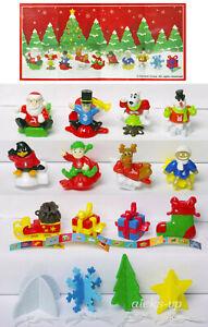 Komplettsatz-Weihnachten-2020-VV314-VV375-Kinder-Joy-Ferrero-mit-allen-BPZ