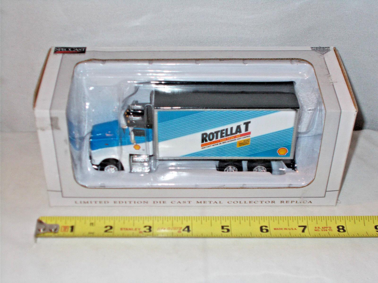Shell Oil Rotella T Peterbilt Van Box Truck By SpecCast